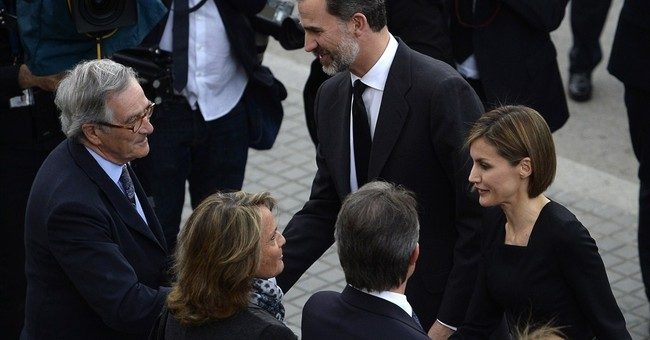 Memorial held for French Alps crash victims in Barcelona