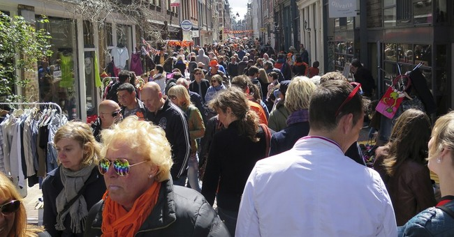 The Netherlands turns all orange for King's Day
