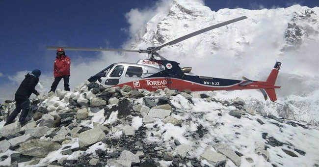 Image of Asia: Rescuing climbers at higher camps on Everest