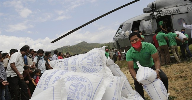 In post-quake aid rush, Nepal neighbors jockey for position