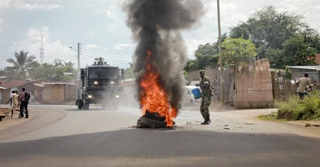 Burundi Red Cross: 6 killed in anti-president protests