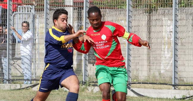 Migrant soccer team's goal: Integration into southern Italy