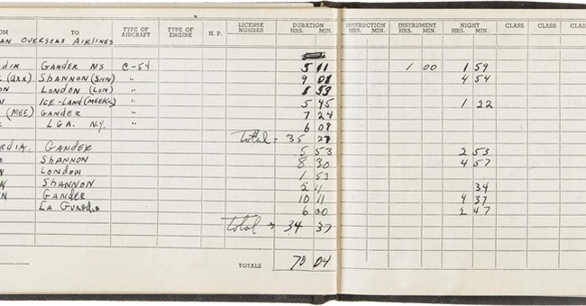 Enola Gay co-pilot's flight logs don't sell at auction