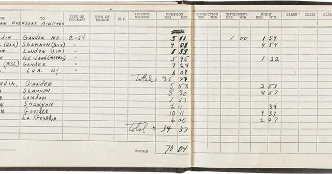 Enola Gay co-pilot's flight logs, Hiroshima plans for sale