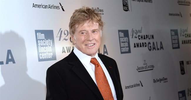 Rare Robert Redford family reunion at Chaplin Awards
