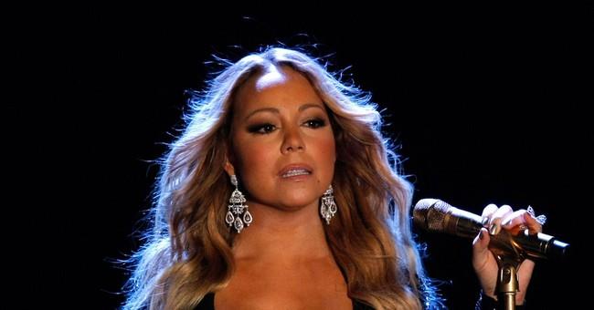 Pop star Mariah Carey makes grand entrance for Vegas show