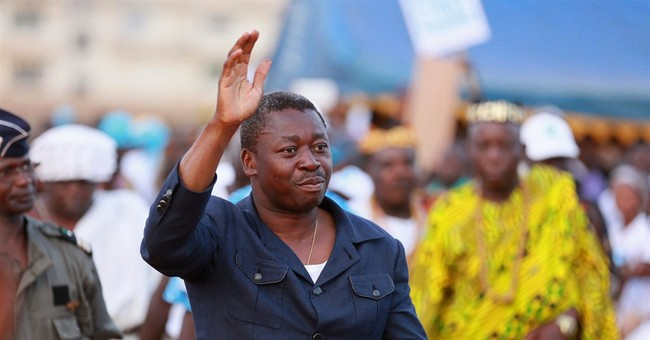 Togo's president wins re-election