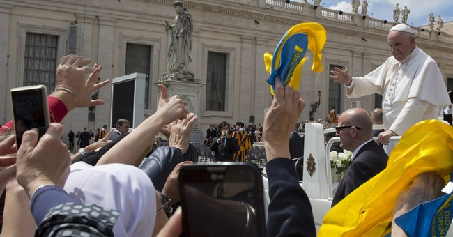 Pope echoes feminist anthem of equal pay for equal work