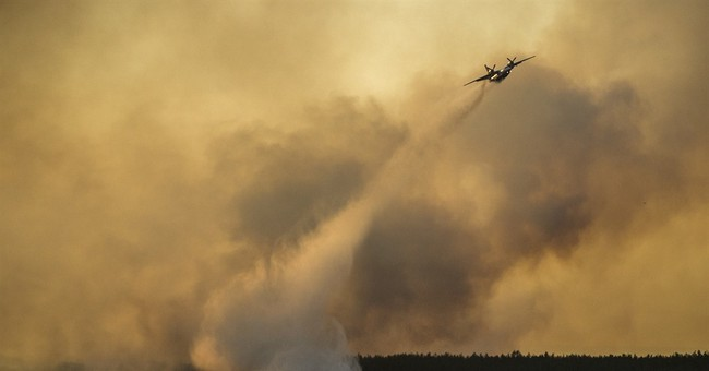 Ukraine says radiation levels not affected by Chernobyl fire