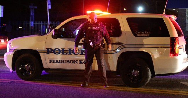 Protests return in Ferguson for second night