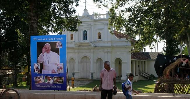 Pope Francis visits Sri Lanka amid hopes for peace