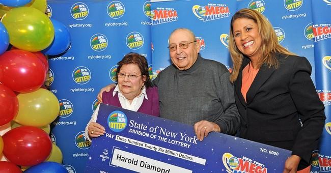 Retired principal wins $326 million Mega Millions jackpot