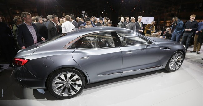 Buick may soon get stylish large sedan