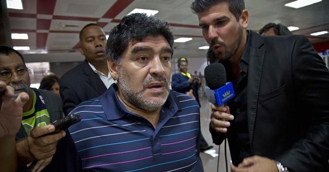 TV network reports Fidel Castro writes letter to Maradona
