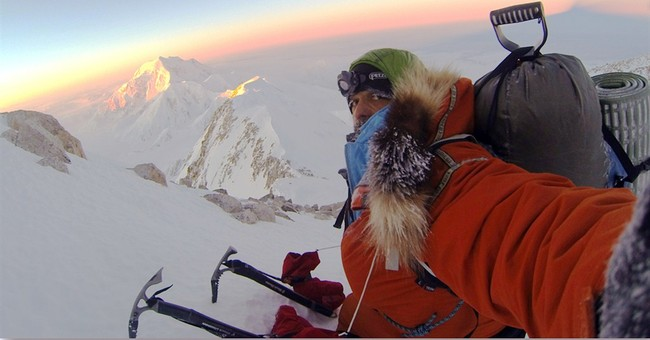 Team: Climber 1st to solo summit Mount McKinley in January
