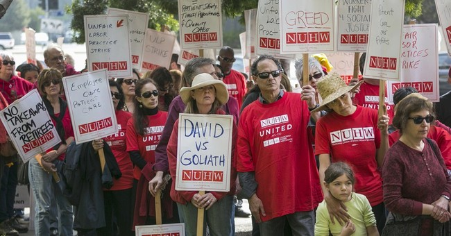 Kaiser's 2,600 mental health workers strike in California