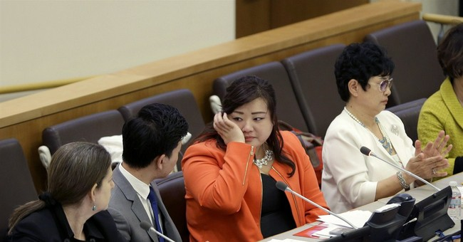 North Korean diplomats cause chaos at UN event on rights