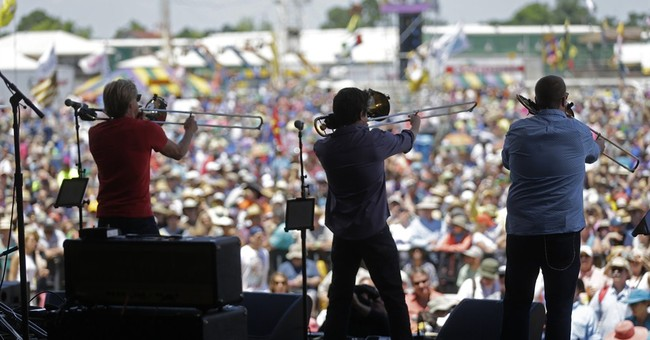 Joyous funeral marches a highlight of New Orleans festival