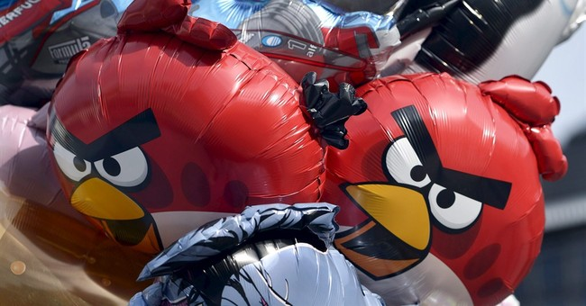 Angry Birds to help save their counterparts in South Pacific