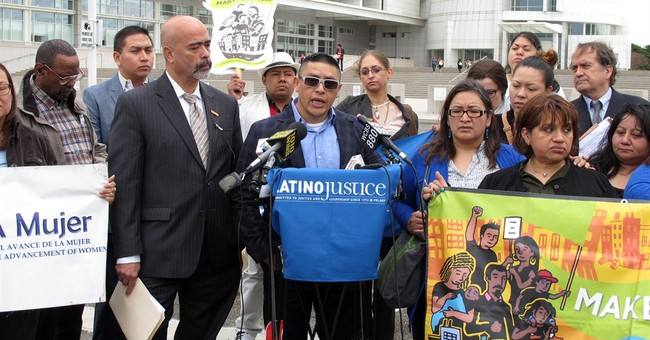 Suit: Suburban NY police targeted Latinos for traffic stops