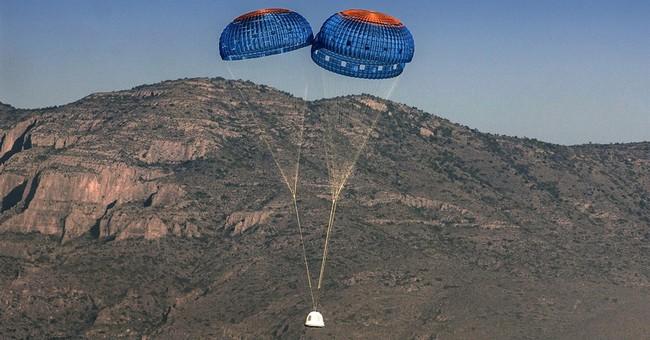 Bezos' secretive space company launches unmanned test flight