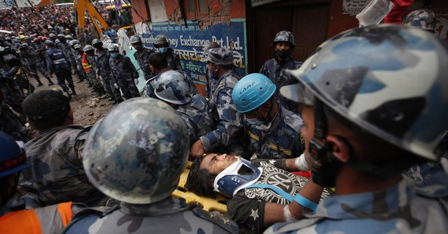 Rescuers pull survivor from rubble 5 days after Nepal quake
