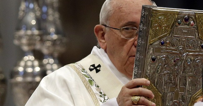 Pope stokes flames ahead of US trip even as he ends problems