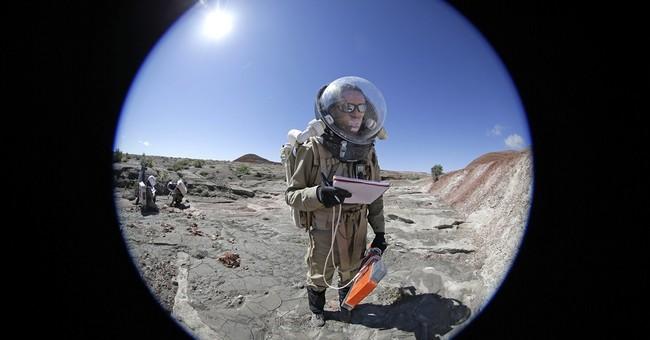 Mars researchers suspend reality when working in Utah desert
