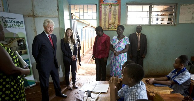 Clintons: Create equal opportunities for girls in education