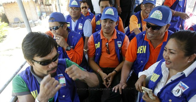 As Philippine congressman, Pacquiao seen as underachieving