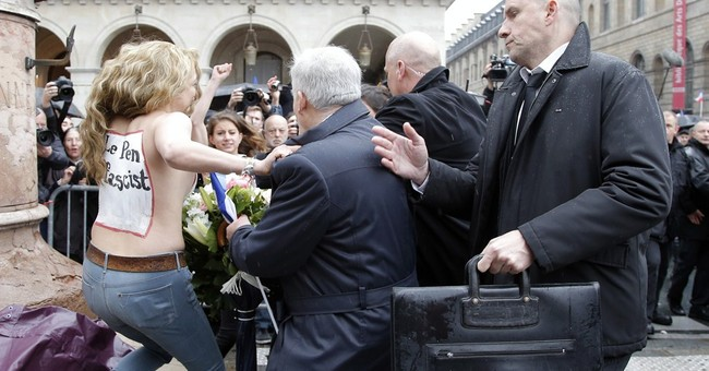 France's National Front family feud on display for May Day