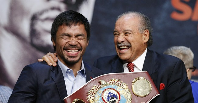 Richest fight ever is also a gold mine for Vegas bookies