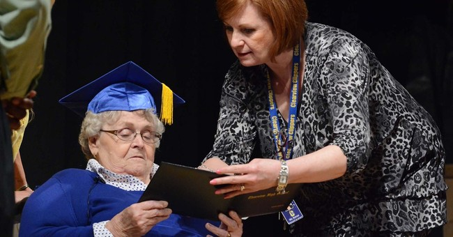 Ohio woman gets diploma 63 years after missing graduation