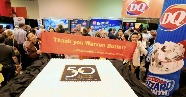 Berkshire Hathaway's first-quarter profit up 10 percent