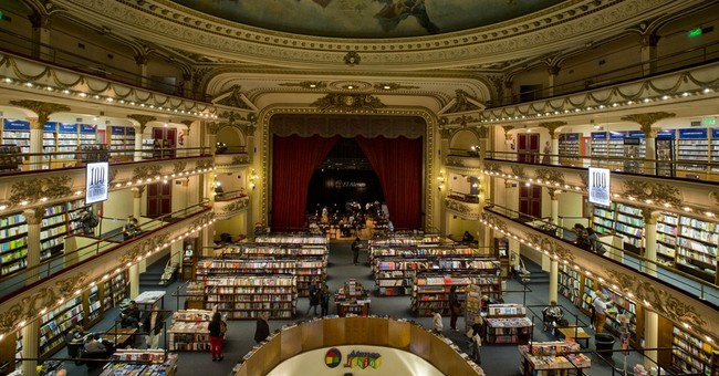 Argentina's capital is world capital of bookstores