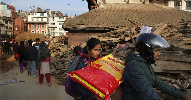 The Latest on Nepal: 109 foreigners still missing; 57 died
