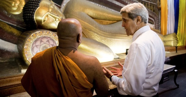 Kerry pledges closer US ties with reform-minded Sri Lanka
