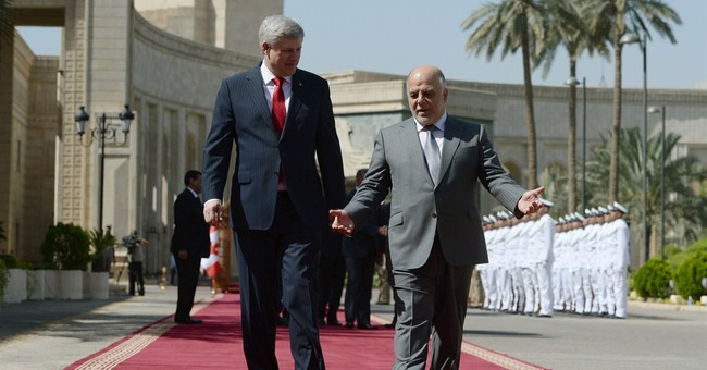 Canadian prime minister visits Iraq as bombings kill 30