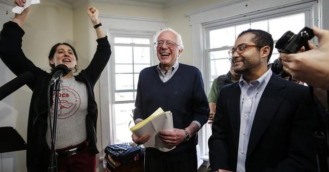 Vermont's Sanders starts presidential bid in New Hampshire