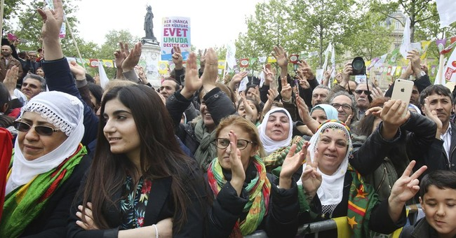 Pro-Kurdish Turkish leaders campaign in Europe for June vote