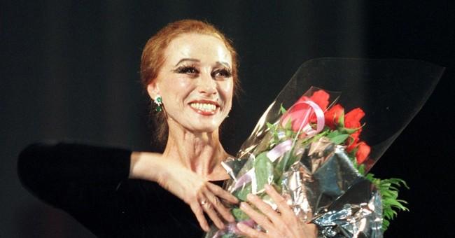 Russian ballerina Plisetskaya dies at 89