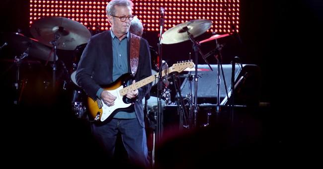 Eric Clapton celebrates 70th birthday by rocking the Garden