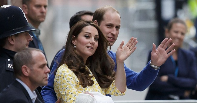 A name for Britain's new princess: Charlotte Elizabeth Diana