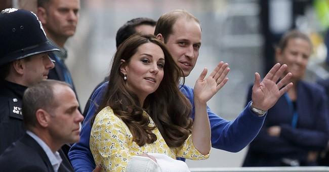 A name for Britain's new princess: Charlotte Elizabeth Diana