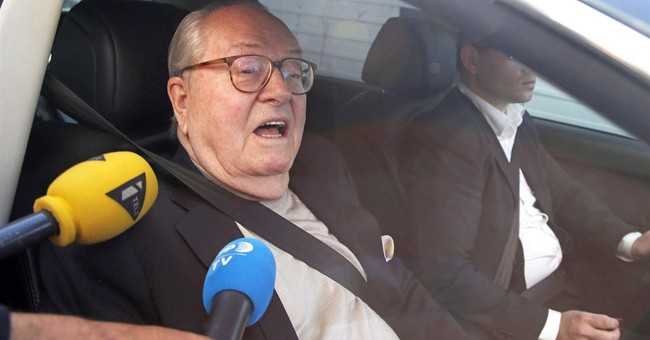 Jean-Marie Le Pen suspended from French far-right party