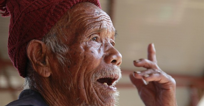 Centenarian survives Nepal quake, worries he's testing fate