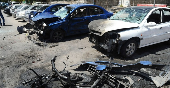 Suicide bomber blows himself up during Damascus attack