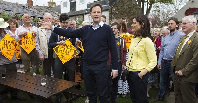 Once the kingmaker, Britain's Clegg faces election debacle
