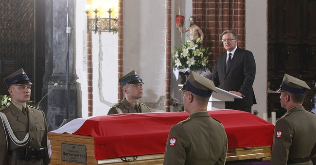 EU, German heads at funeral of former Polish FM Bartoszewski