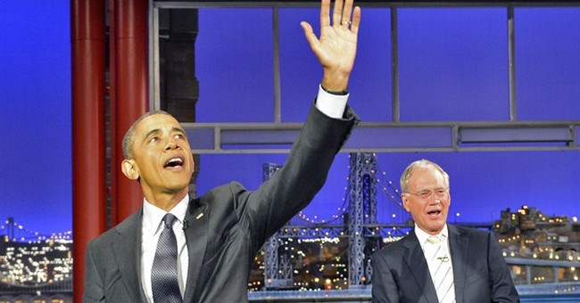 Obama jokes with Letterman about post-retirement life